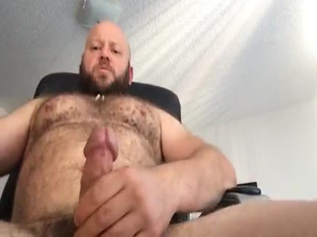 Big muscle bear cock
