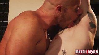 Nipple play and pec worship