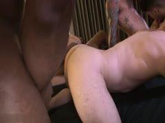 FUCK OFF HOMO, 10 guys bareback gangbang, A MAX SOHL SEXTAPE