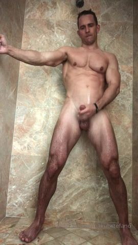 Jakub Stefano Naked Cock