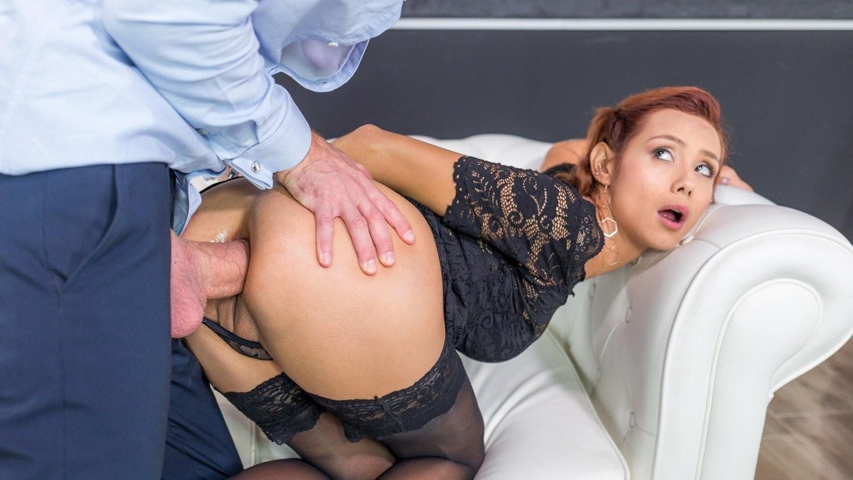 Letsdoeit Hot Italian Brunette Teen Gets Ass Drilled In Her First Porn
